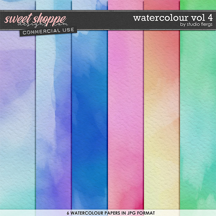 Watercolour VOL 4 by Studio Flergs