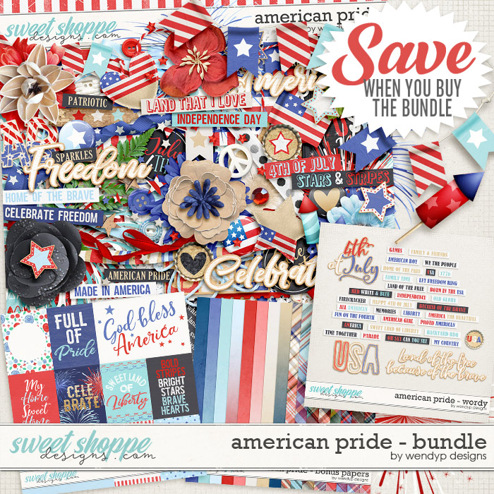 American pride - Bundle by WendyP Designs