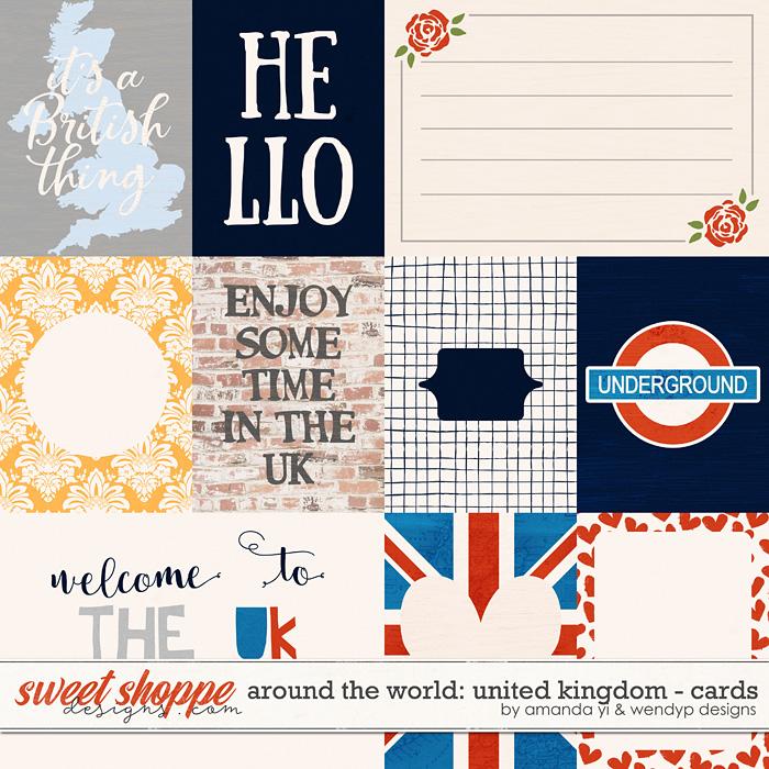 Around the world: United Kingdom - Cards by Amanda Yi & WendyP Designs