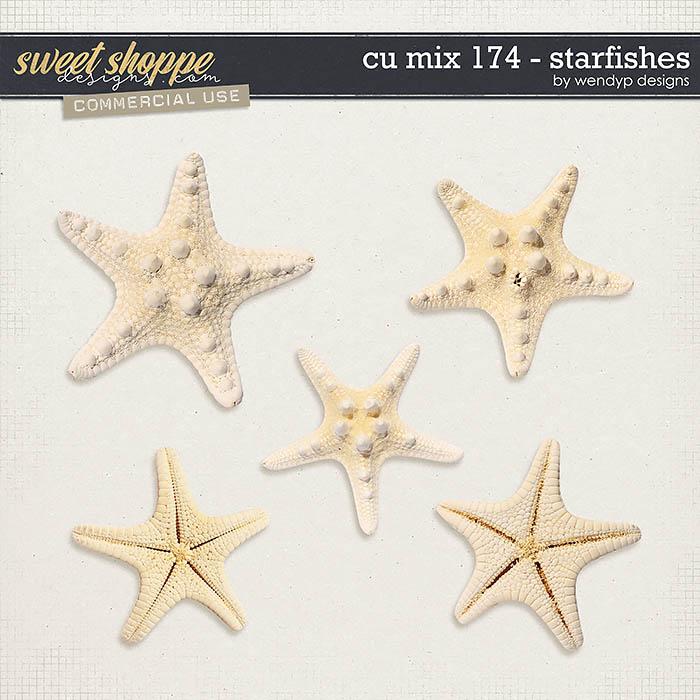 CU Mix 174 - starfishes by WendyP Designs