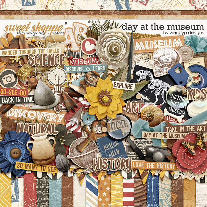 Day at the museum by WendyP Designs