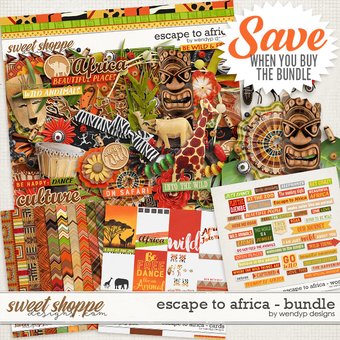 Escape to Africa - bundle by WendyP Designs