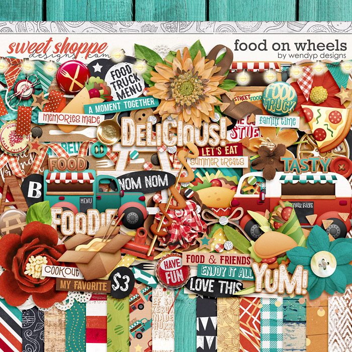 Food on wheels by WendyP Designs