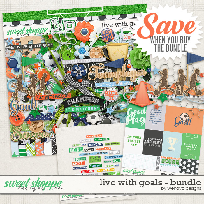 Live with goals - Bundle by WendyP Designs
