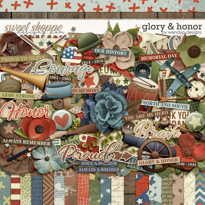 Glory & Honor by WendyP Designs