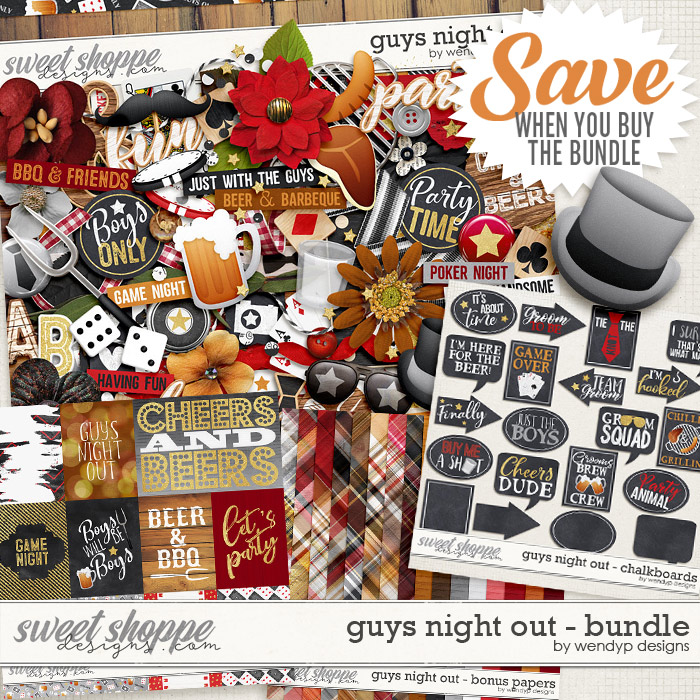 Guys night out - bundle by WendyP Designs