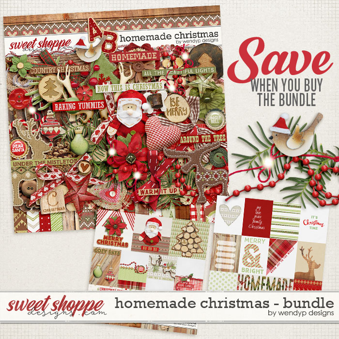Homemade Christmas - Bundle *FWP* by WendyP Designs