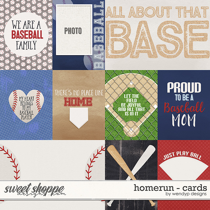 Homerun - Cards by WendyP Designs