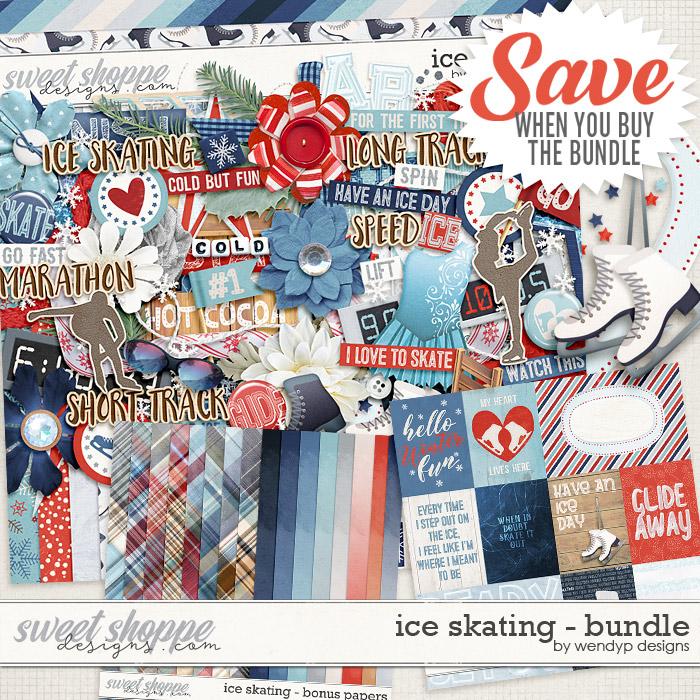 Ice skating - Bundle by WendyP Designs