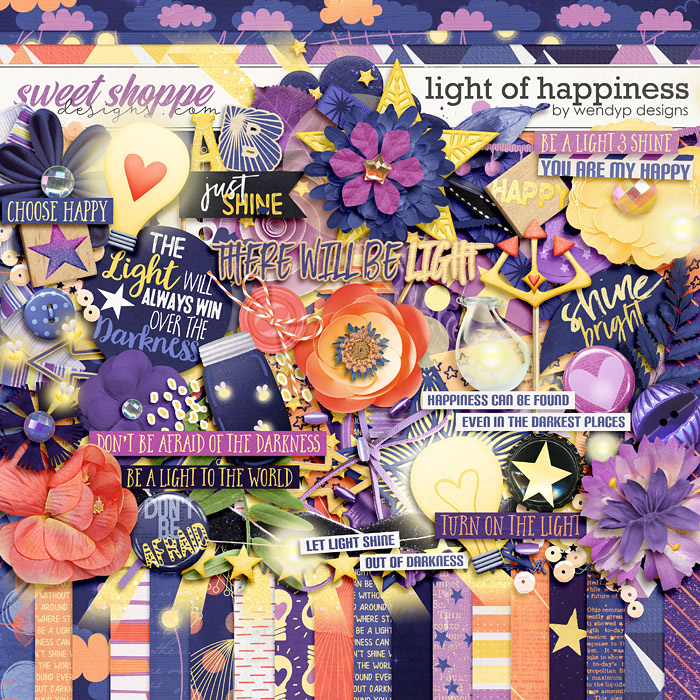 Light of happiness by WendyP Designs