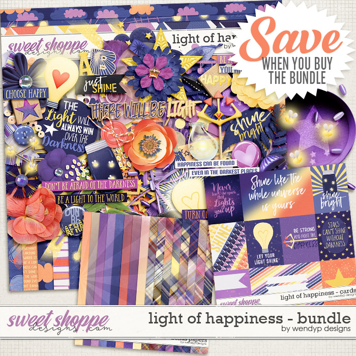 Light of happiness - bundle by WendyP Designs