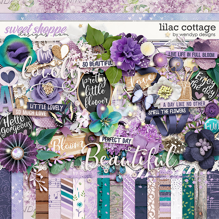 Lilac Cottage by WendyP Designs