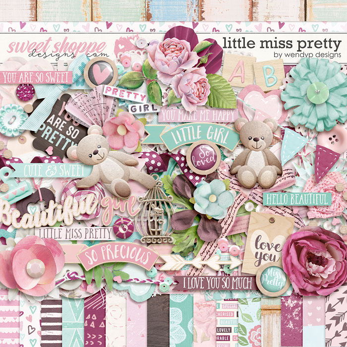 Little miss pretty by WendyP Designs