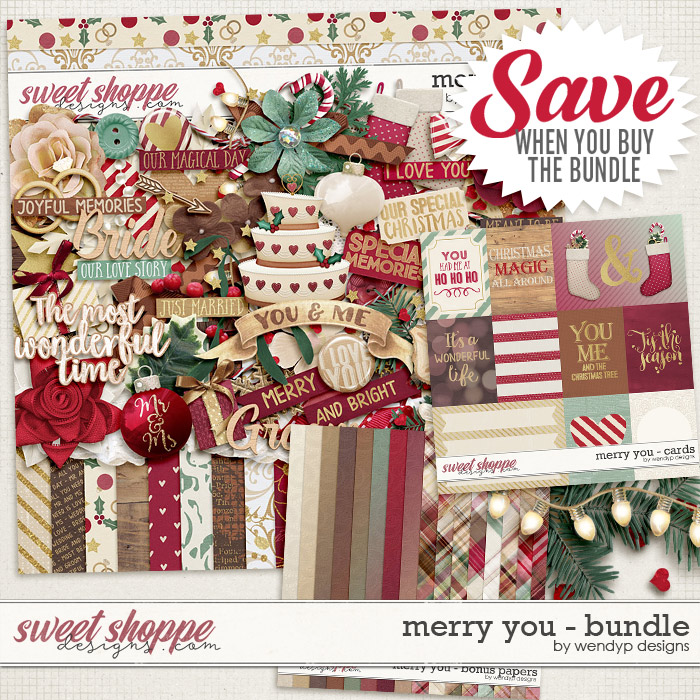 Merry you - bundle by WendyP Designs