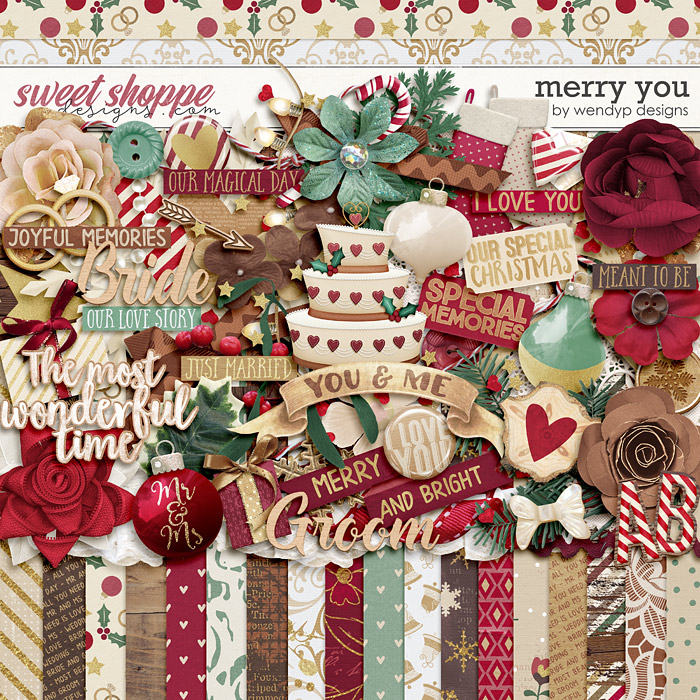 Merry you by WendyP Designs