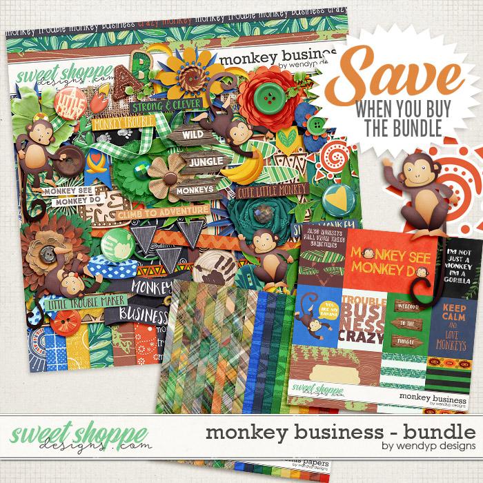 Monkey Business - Bundle by WendyP Designs