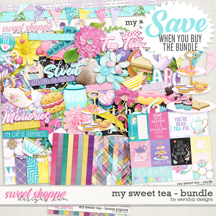 My sweet Tea - bundle by WendyP Designs