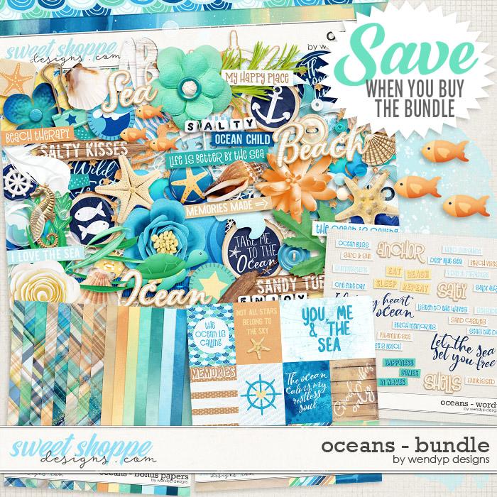 Oceans - bundle by WendyP Designs