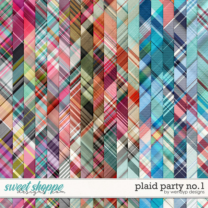 Plaid party no.1 by WendyP Designs