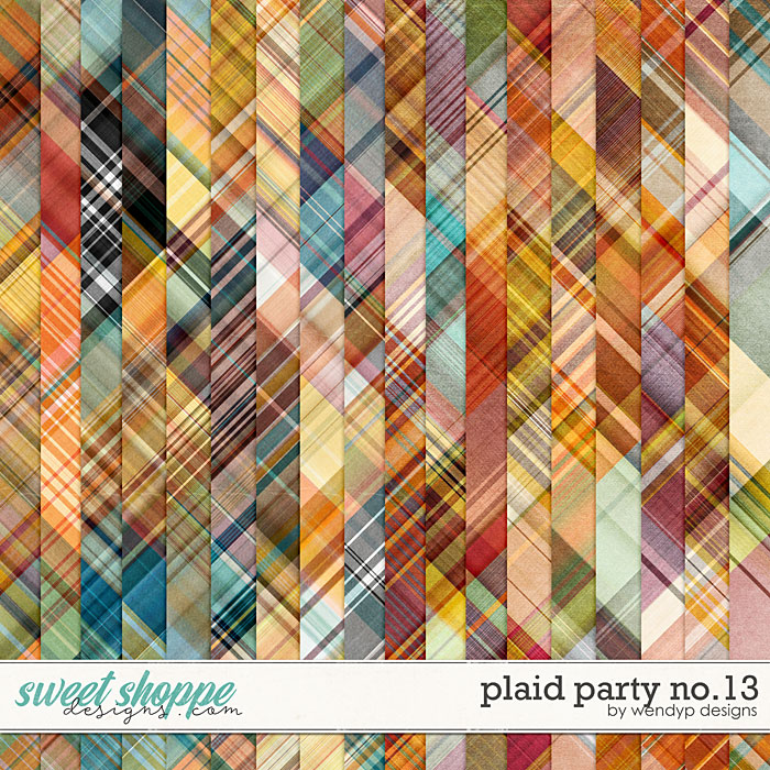 Plaid Party No.13 by WendyP Designs