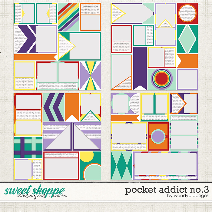Pocket Addict No.3 by WendyP Designs
