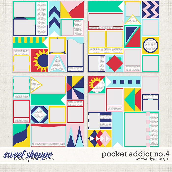 Pocket Addict No.4 by WendyP Designs