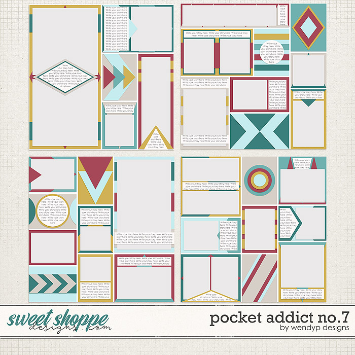 Pocket Addict No.7 by WendyP Designs