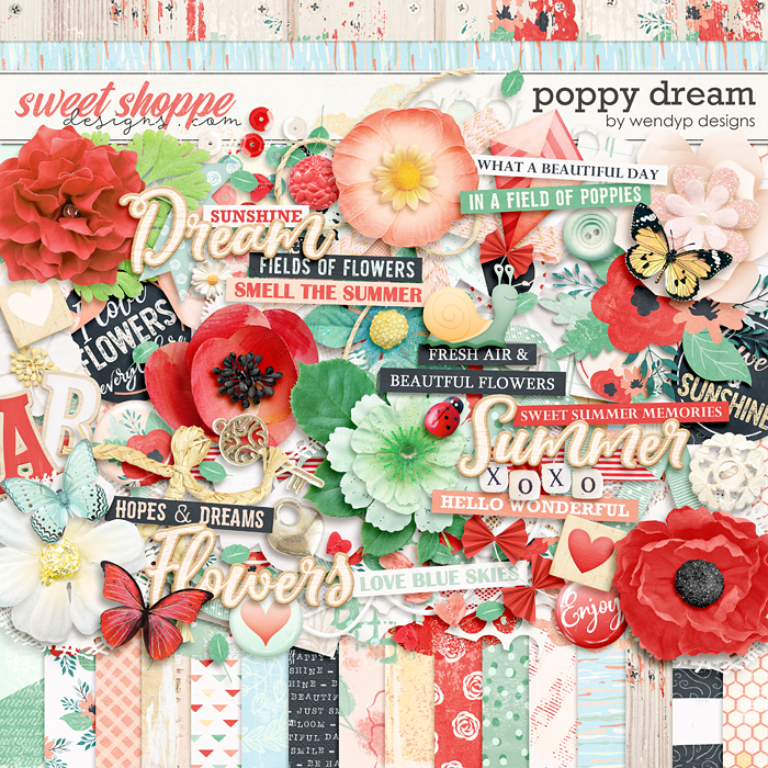 Poppy dream by WendyP Designs
