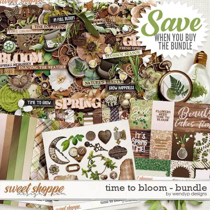 Time to bloom - Bundle by WendyP Designs