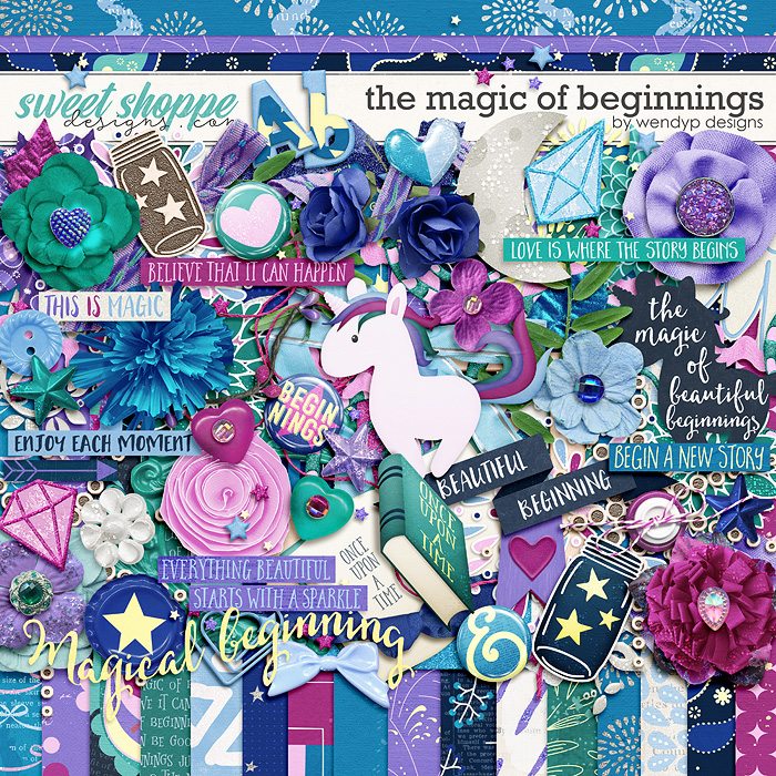 The magic of beginnings by WendyP Designs
