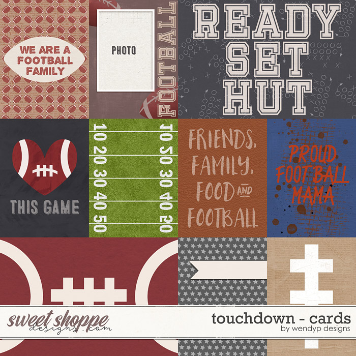 Touchdown - cards by WendyP Designs