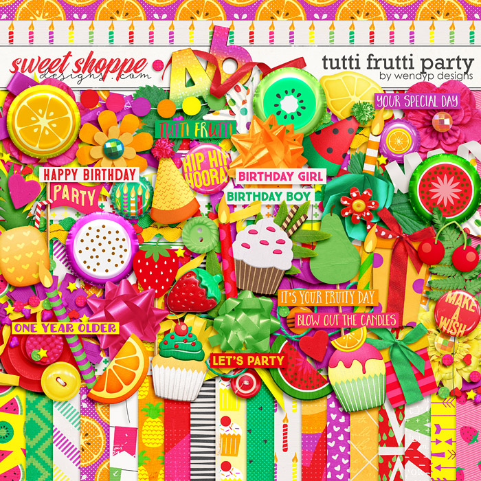 Tutti frutti party by WendyP Designs