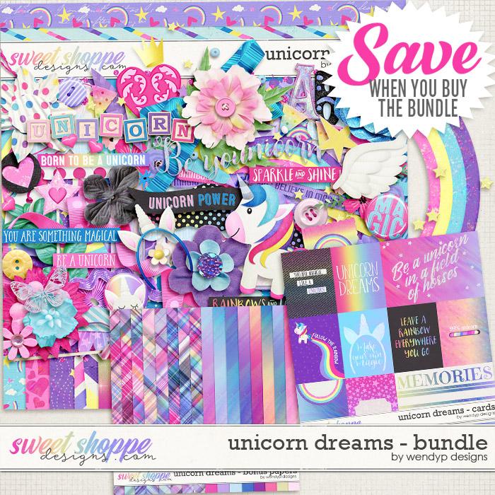 Unicorn Dreams - Bundle by WendyP Designs