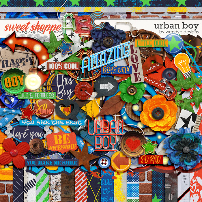 Urban boy by WendyP Designs