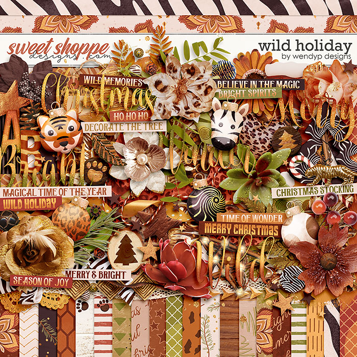 Wild Holiday by WendyP Designs