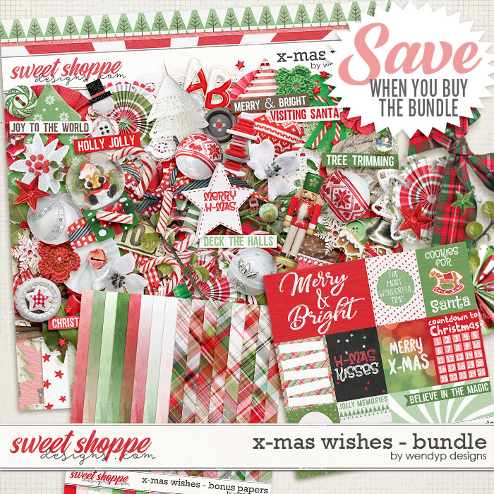 X-Mas wishes - bundle by WendyP Designs