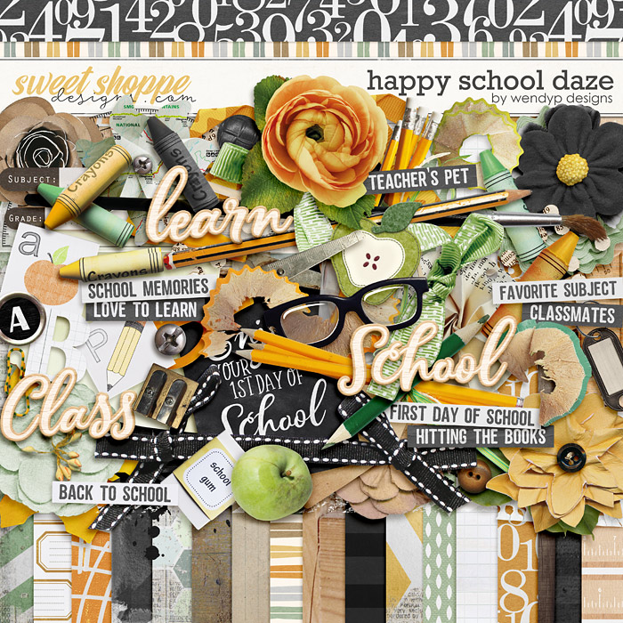 Happy school daze by WendyP Designs
