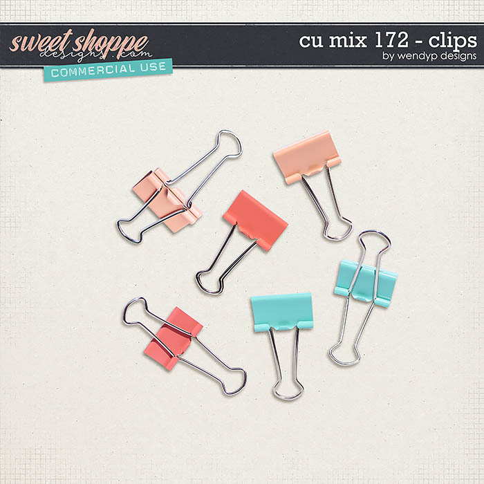 CU Mix 172 - clips by WendyP Designs