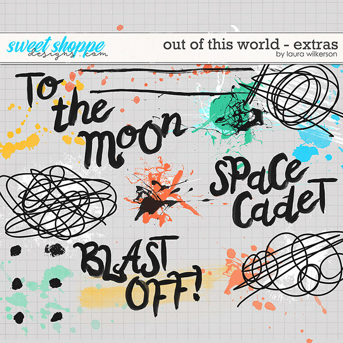 Out of This World: Extras by Laura Wilkerson