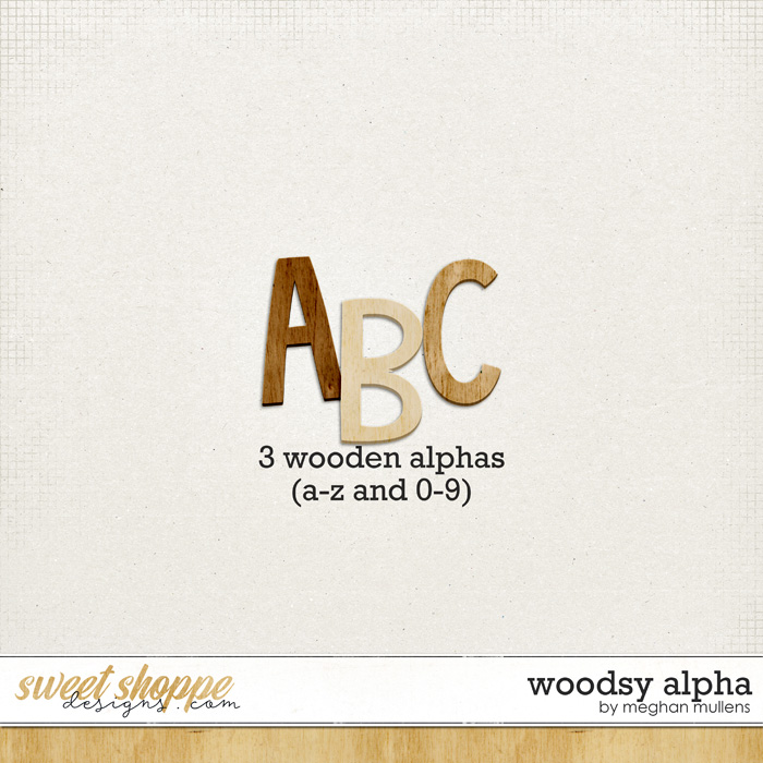 Woodsy Alpha by Meghan Mullens