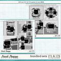 Cindy's Layered Templates - Bundled Sets #171-172 by Cindy Schneider