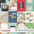 Just Visiting: Pocket Cards by Jenn Barrette