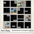 Destinations 2 Template Album by Misty Cato