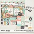 A Snowflake Dream Bundle by Tickled Pink Studio