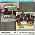 Brook's Templates - Duo 11 - Apparently Thankful by Brook Magee