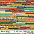 100 Things I Love About You by Studio Basic