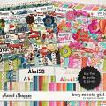 Boy Meets Girl Bundle by Digilicious Design