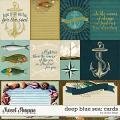 Deep Blue Sea :. CARDS by Studio Flergs