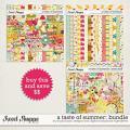 A Taste Of Summer Bundle by Studio Basic and Digital Scrapbook Ingredients