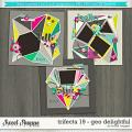 Brook's Templates - Trifecta 19 - Geo Delightful by Brook Magee